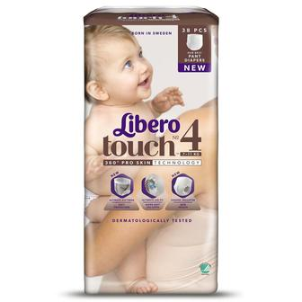 Подгузники-трусики Libero Touch Pants
