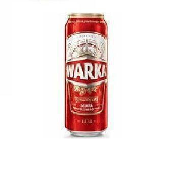 Пиво Світле WARKA 0,5л