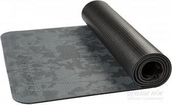 Килимок для йоги Energetics 179823 2 172х61х0.6 см сіро-чорний