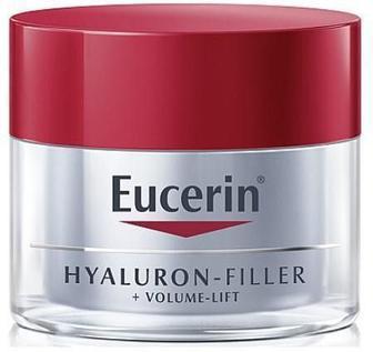 Крем Eucerin Hyaluron Filler Volume Lift Ночной антивозрастной для восстановления контура лица 50 мл