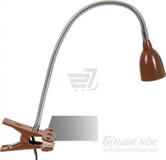 Настільна лампа Jazzway PTL-1215c 4 Вт коричневий