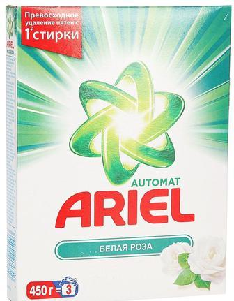 Стиральный. порошок Белая роза Автомат, 450 г, Ариель
