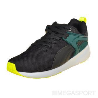 Кроссовки Puma Aril Blaze с зелеными вставками