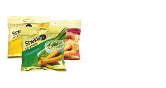 Сухарики пшенично-житні, Snekkin, 35г