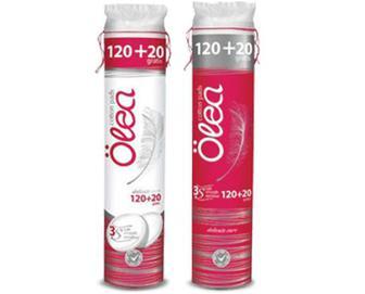 Диски ватні Öea косметичні круглі, 120+20 шт./уп