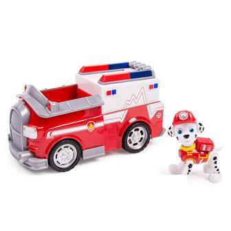 Спасательный автомобиль с водителем Paw Patrol фигурка Маршала (SM16600/SM16601-2)
