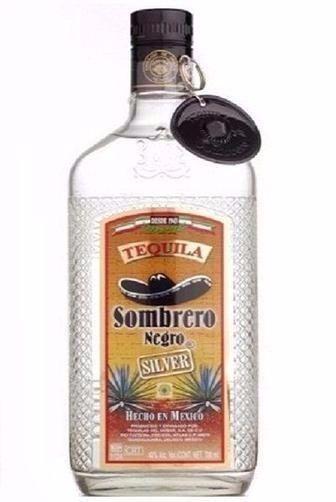 Текіла Sombrero Negro Silver 0,375 л