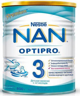 Смесь молочная Nestle NAN 3 (с 12 месяцев) 800 г