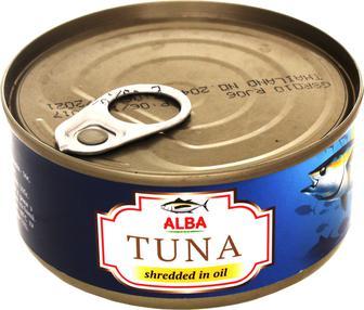 Тунец салатный в собственном соку ALBA 150 г