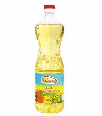 Олія соняшникова рафінована Лідер Смаку 0,81л
