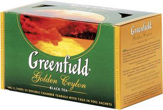 Чай Greenfield Golden Ceylon чорний 25пак