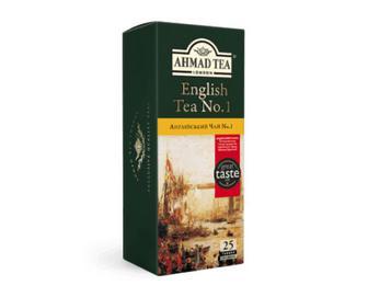 Чай Ahmad Tea English Tea No.1 25×2г