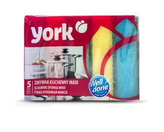 Губки кухонні York Maxі, 5 шт./уп.