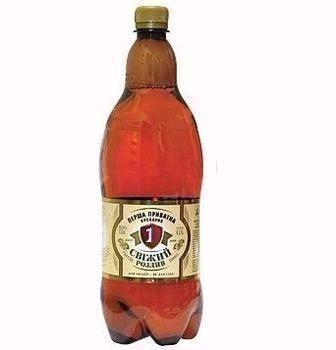 Пиво світле Свіжий Розлив ППБ 1,3л
