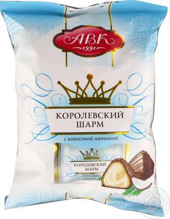 ЦУКЕРКИ КОРОЛІВСЬКИЙ ШАРМ Кокосова начинка кг