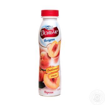 Йогурт питний Дольче 2,5% Lactel 290г