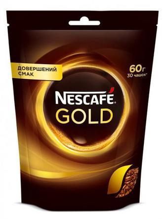 Кава Нескафе Голд розчинна 60г