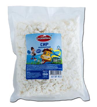 Сир кисломолочний Смаковеньки 5% 400г