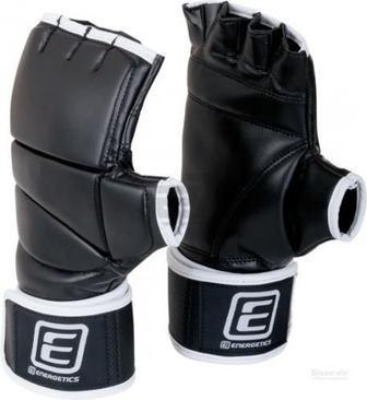 Боксерські рукавиці Energetics 225551 Power Hand Gel TNAW р. L чорний із білим