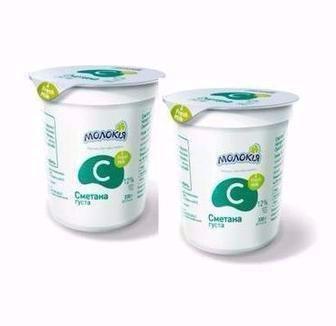 Йогурт без наповнювача 1,6% Молокія 330 г