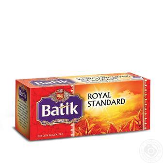 Чай черный Батик Королевский стандарт 25