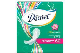 Прокладки щоденні Discreet Deo Water Lily Multiform, 60шт./уп.