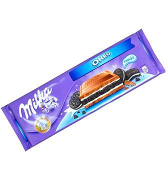 Шоколад з наповнювачем Oreo Milka 300г