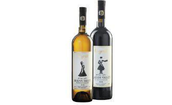 Вино Алазанська долина біле, червоне напівсолодке Бугеулі 0,75 л
