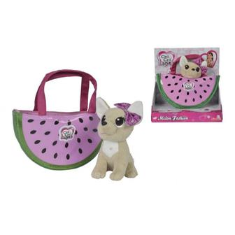 Іграшка щеня Чихуахуа Фруктова мода Кавун з сумочкою Chi Chi Love 18 см (5893116)