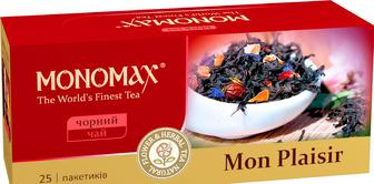 Чай черный пакетированный Мономах Mon Plaisir 25