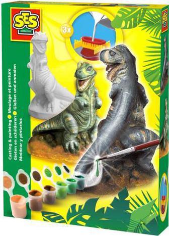 Набір SES для створення гіпсової фігурки T-Rex 01283S