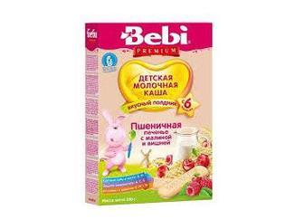 Каша Bebi молочная (с 6 месяцев) 200/250г