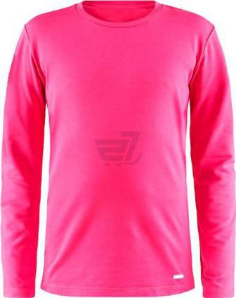 Термофутболка Craft Essential Warm RN LS Junior р. 110/116 рожевий 1906631-720000