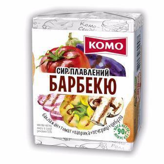 Сир Вершковий, Тартар, з шинкою 55% Комо 90г