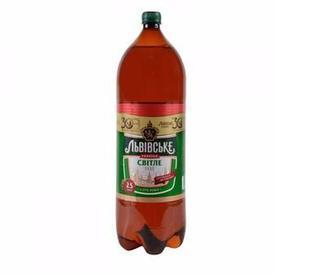 Пиво Світле, Львівське, 2 л