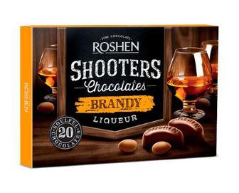 Цукерки Roshen Shooters Brandy, 150г