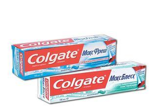 Зубна паста Макс Фреш, Вибухова М'ята/ Макс Блиск, Кристальна М'ята Colgate 100 мл