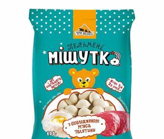 Пельмени Мишутка, Три Медмедя, 0,4 кг
