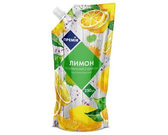 Лимон подрібнений з цукром «Премія»® 250г