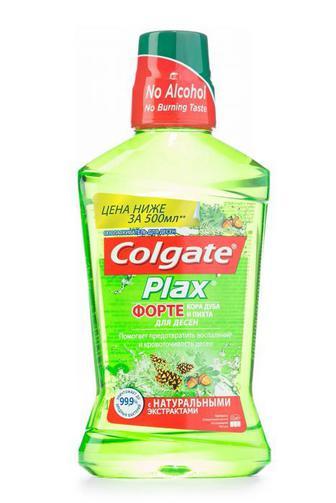 Ополаскиватель для полости рта Colgate Plax Кора дуба и пихты 500мл