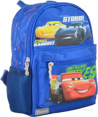 Рюкзак дитячий 1 вересня K-16 Cars