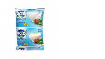Молоко ультрапастеризованное 2,5%, с витамином Д, Lactel