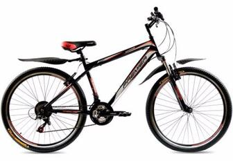"Велосипед Premier XC24 13"" черн с красн-бел-зел-желт"