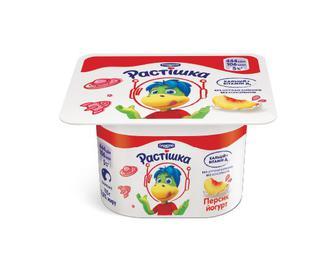 Йогурт «Растішка» 2% жиру персик, 115 г