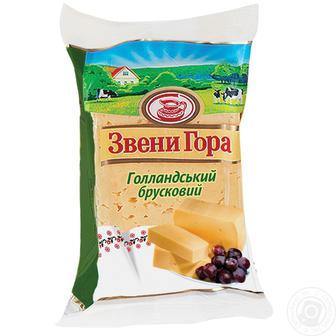 Сир твердий фасований 50% Звени Гора 285 г