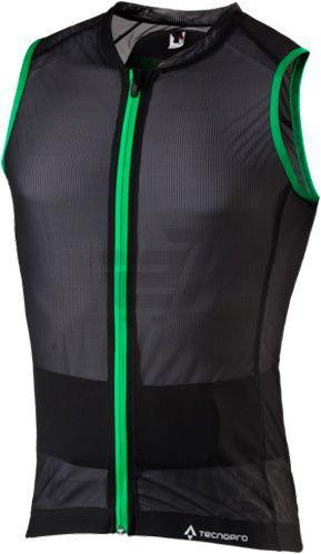 Захист для спини TECNOPRO ЕХ 253654 FORTRESS 3.0 р. L чорний із зеленим