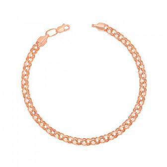 Скидка 33% ▷ Золотой браслет с алмазной гранью Артикул 07017