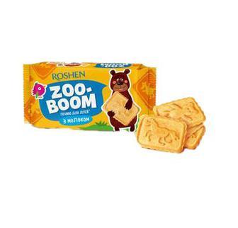 Печиво Roshen Zoo-boom молоко 68г