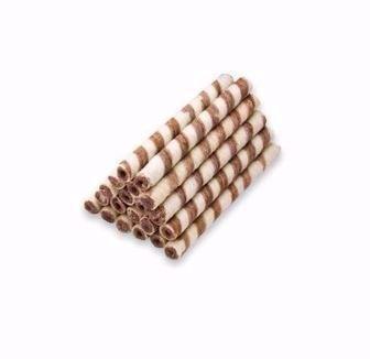 Вафельні трубочки з какао та молоком Бісквіт Шоколад 100 г