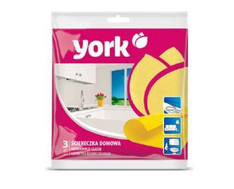 Серветка для прибирання оселі York 3 шт./уп.
